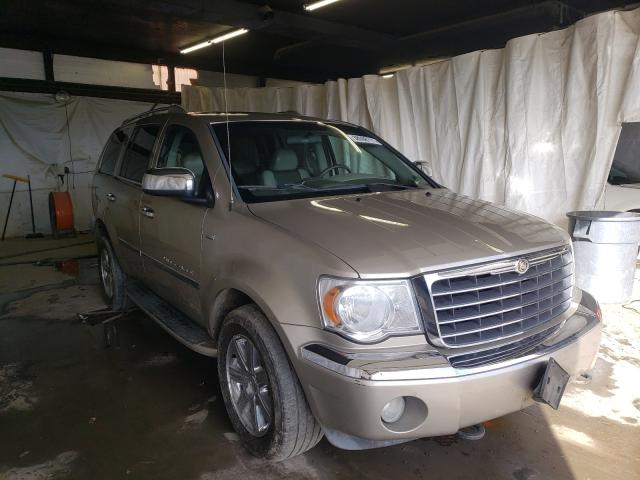 Salvage cars for sale from Copart Ebensburg, PA: 2008 Chrysler Aspen Limited