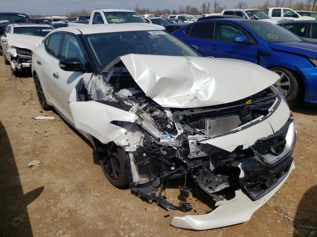 Salvage cars for sale from Copart Bridgeton, MO: 2017 Nissan Maxima 3.5