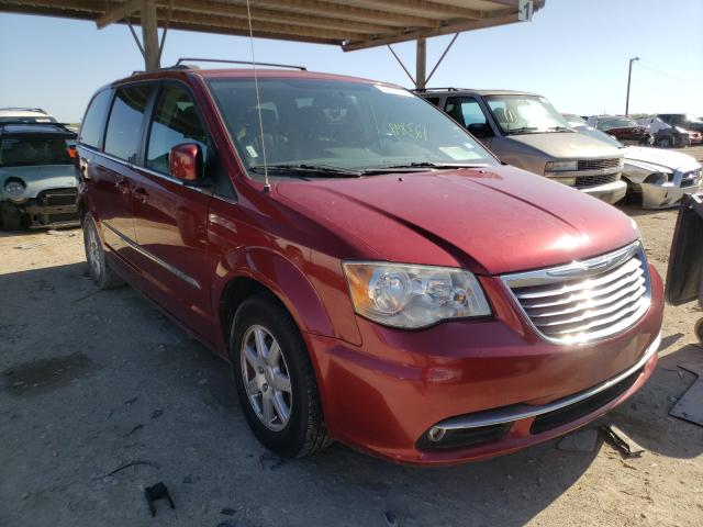 Salvage cars for sale from Copart Temple, TX: 2012 Chrysler Town & Country