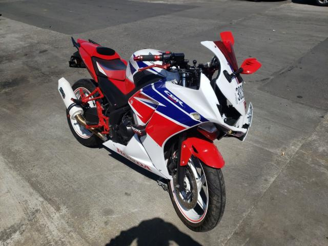Salvage cars for sale from Copart Wilmington, CA: 2015 Honda CBR300 R