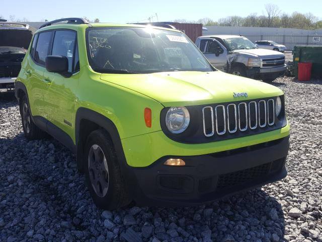 Jeep Renegade salvage cars for sale: 2017 Jeep Renegade