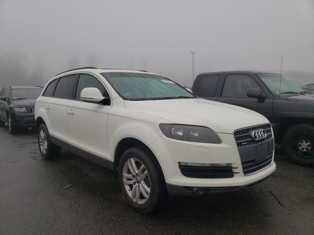 Salvage cars for sale from Copart Exeter, RI: 2009 Audi Q7 3.6 Quattro