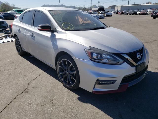 Vehiculos salvage en venta de Copart Colton, CA: 2017 Nissan Sentra SR