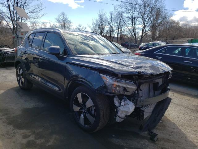 Volvo salvage cars for sale: 2021 Volvo XC40 T5 MO