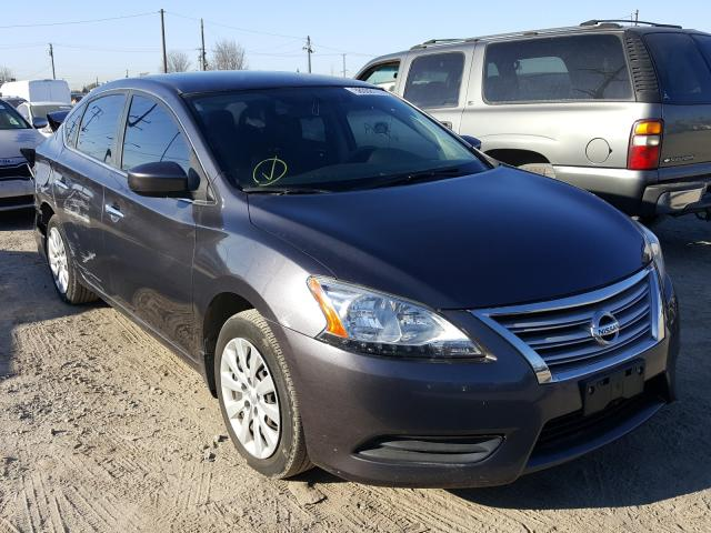 Nissan salvage cars for sale: 2015 Nissan Sentra