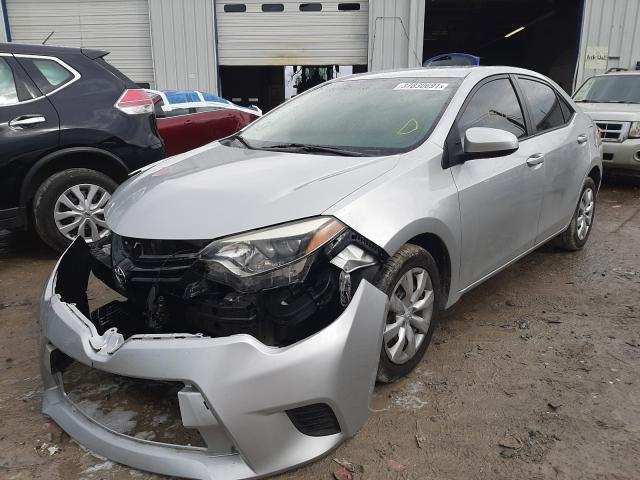 2016 TOYOTA COROLLA L - Left Front View