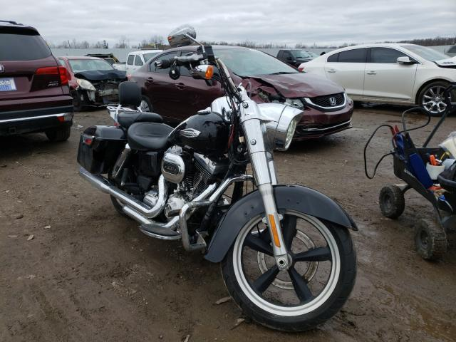 Salvage cars for sale from Copart Louisville, KY: 2016 Harley-Davidson FLD Switch