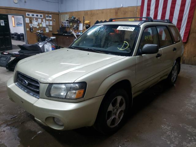 2004 SUBARU FORESTER - Left Front View