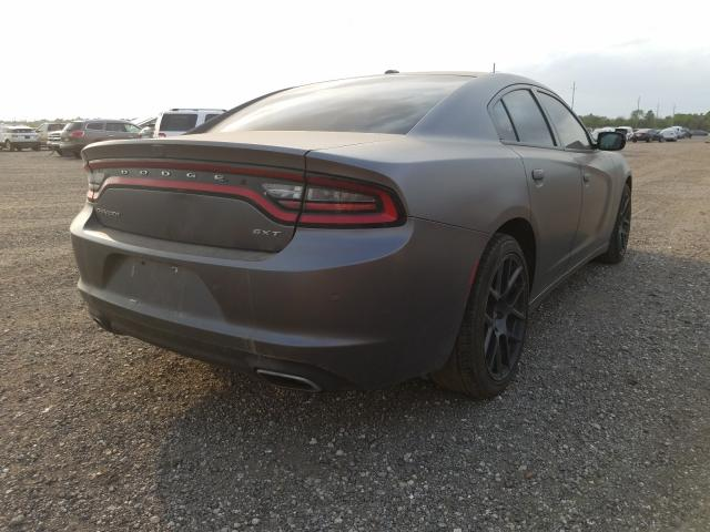 2018 DODGE CHARGER SX - Right Rear View