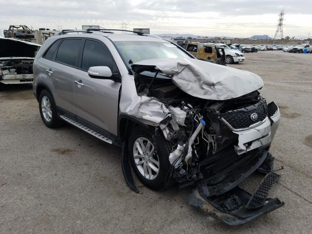 KIA Sorento salvage cars for sale: 2015 KIA Sorento