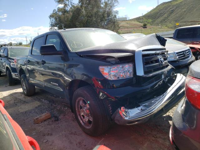 Salvage cars for sale from Copart Colton, CA: 2012 Toyota Tundra CRE
