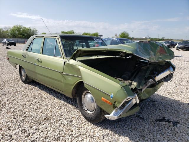 Dodge Dart salvage cars for sale: 1972 Dodge Dart