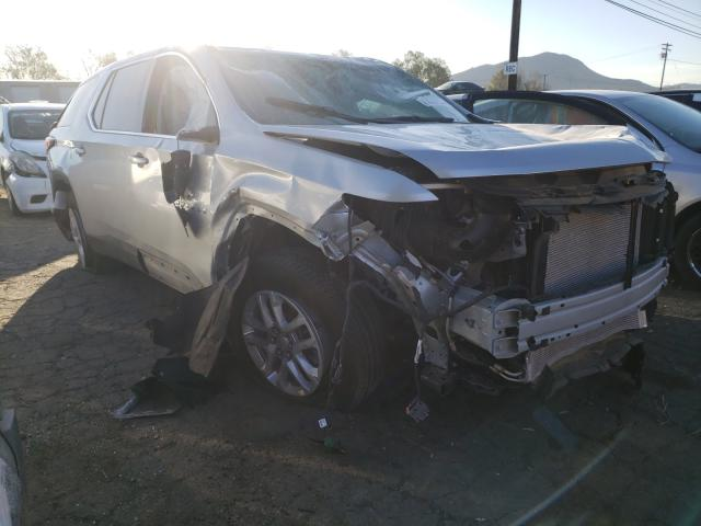 Salvage cars for sale from Copart Colton, CA: 2021 Chevrolet Traverse L
