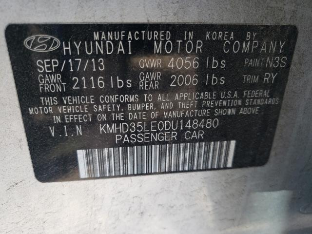 2013 HYUNDAI ELANTRA GT KMHD35LE0DU148480