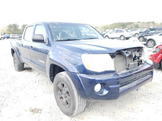 Salvage cars for sale from Copart Ellenwood, GA: 2006 Toyota Tacoma DOU