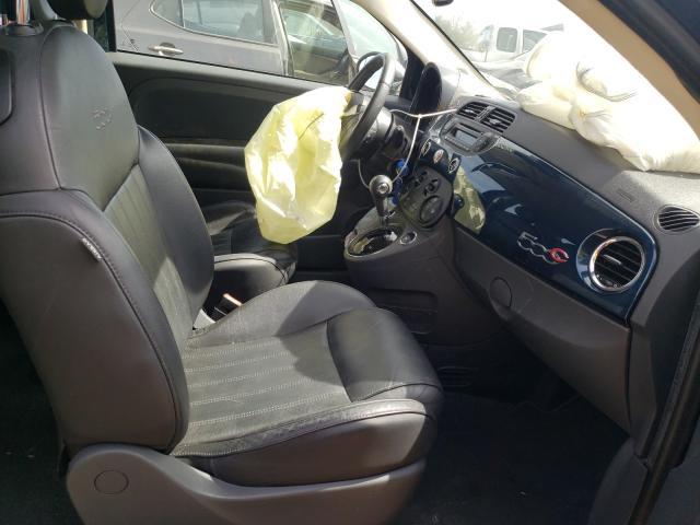 2013 Fiat 500   Vin: 3C3CFFER2DT612607