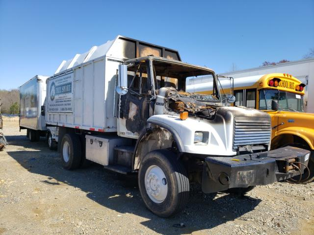 Salvage cars for sale from Copart Chatham, VA: 2001 Freightliner Medium CON