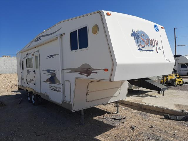Trailers Vehiculos salvage en venta: 2005 Trailers Travel Trailer