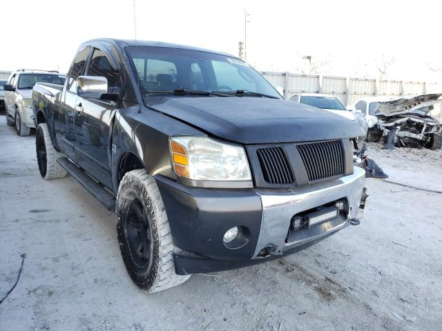 Salvage cars for sale from Copart Homestead, FL: 2004 Nissan Titan XE