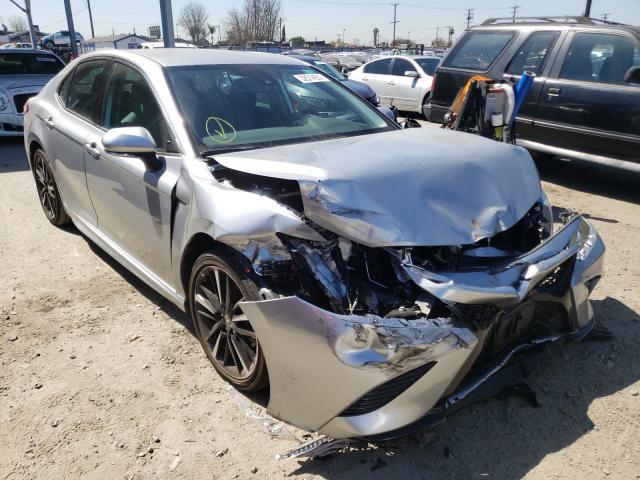Salvage cars for sale from Copart Los Angeles, CA: 2020 Toyota Camry XSE