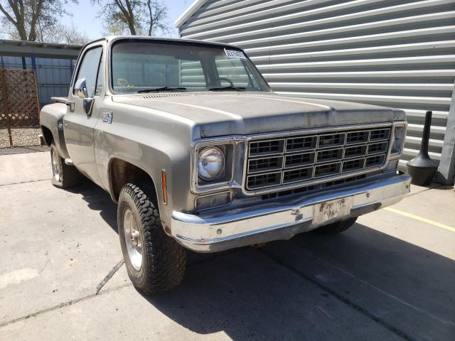 GMC C/K/R1500 salvage cars for sale: 1978 GMC C/K/R1500