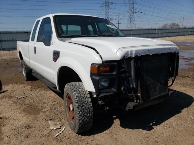 Salvage cars for sale from Copart Elgin, IL: 2008 Ford F350 SRW S