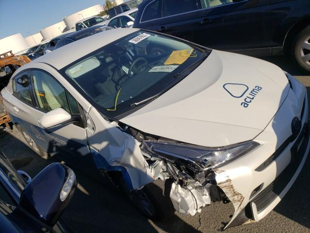 Salvage cars for sale from Copart Martinez, CA: 2020 Toyota Prius L
