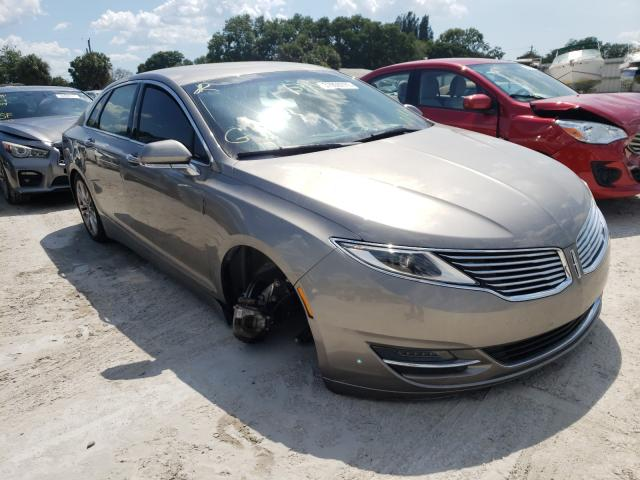 Salvage cars for sale from Copart Punta Gorda, FL: 2016 Lincoln MKZ