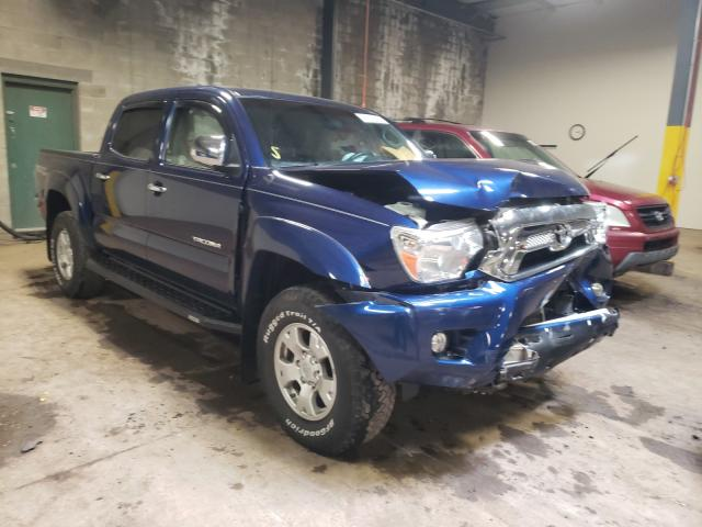 Salvage cars for sale from Copart Chalfont, PA: 2015 Toyota Tacoma DOU