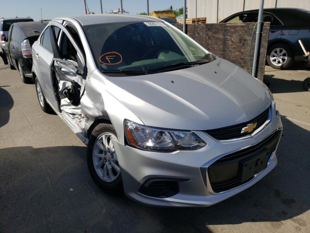 Salvage cars for sale from Copart Fresno, CA: 2019 Chevrolet Sonic LT