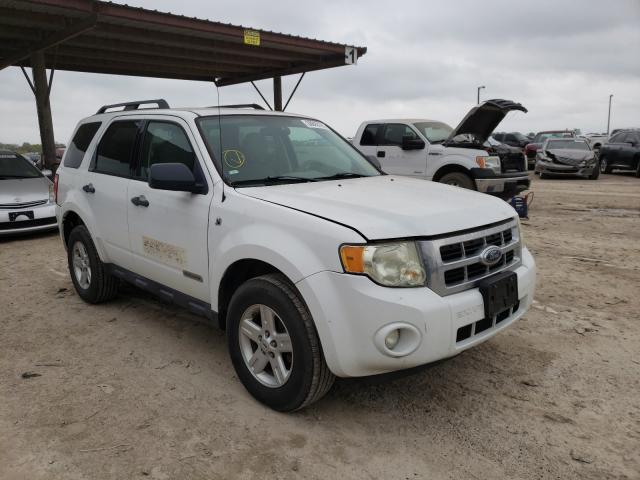 Salvage cars for sale from Copart Temple, TX: 2008 Ford Escape HEV