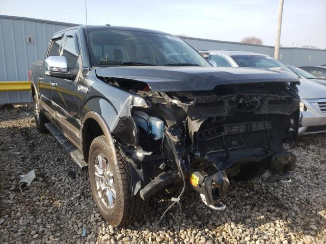 Salvage cars for sale from Copart Cudahy, WI: 2015 Ford F150 Super