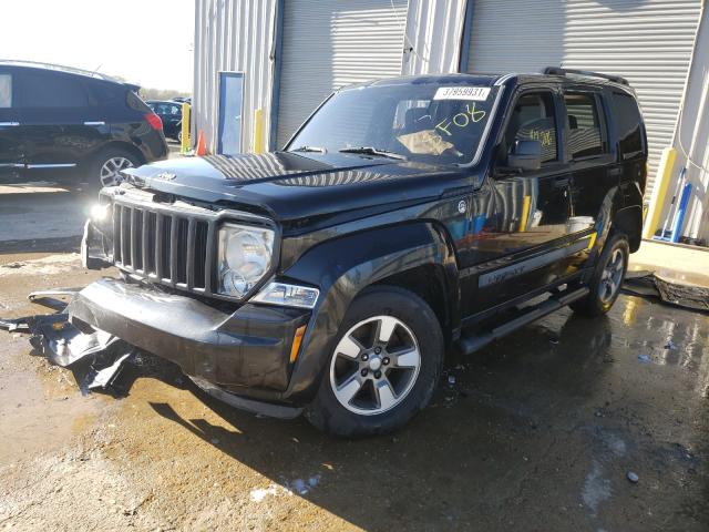 2008 JEEP LIBERTY SP - Left Front View
