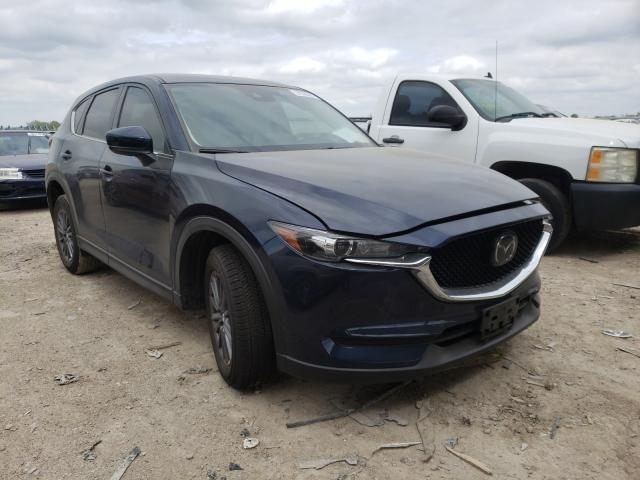 Salvage cars for sale from Copart Temple, TX: 2021 Mazda CX-5 Touring