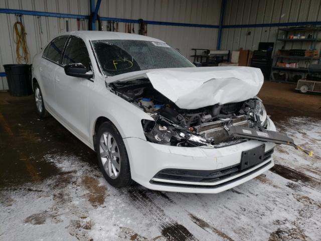 Volkswagen salvage cars for sale: 2015 Volkswagen Jetta SE