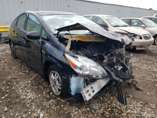 Salvage cars for sale from Copart Cudahy, WI: 2010 Toyota Prius
