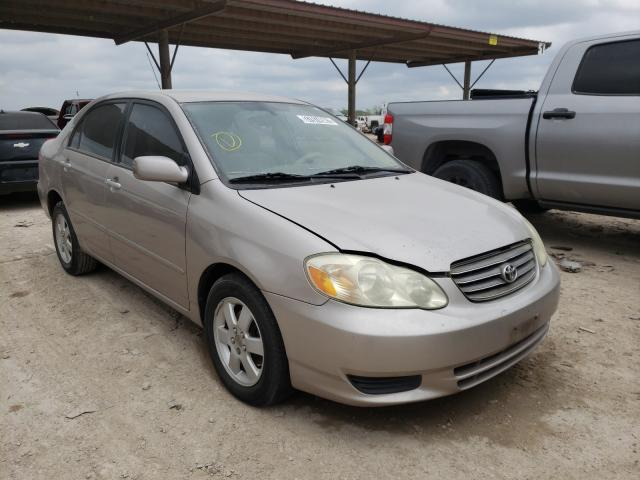 Salvage cars for sale from Copart Temple, TX: 2003 Toyota Corolla CE