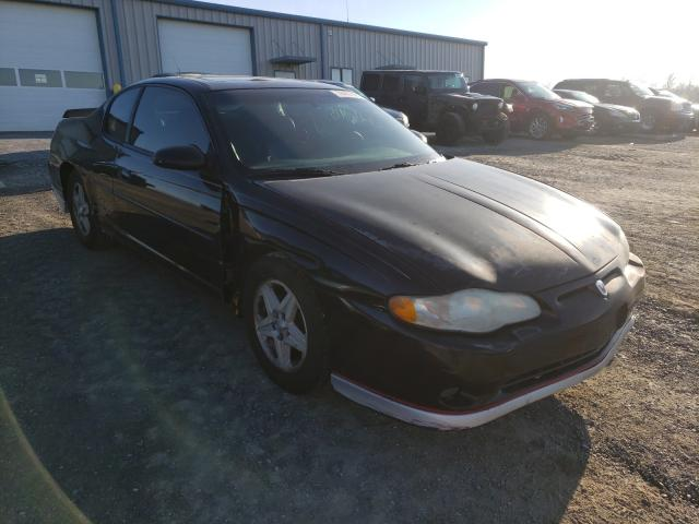 Salvage cars for sale from Copart Chambersburg, PA: 2002 Chevrolet Monte Carl