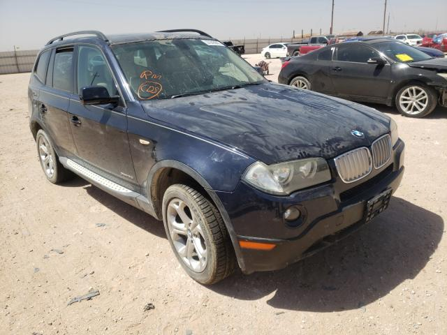 Salvage cars for sale from Copart Andrews, TX: 2009 BMW X3 XDRIVE3