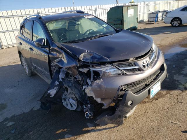 Salvage cars for sale from Copart Lexington, KY: 2014 Toyota Rav4 Limited