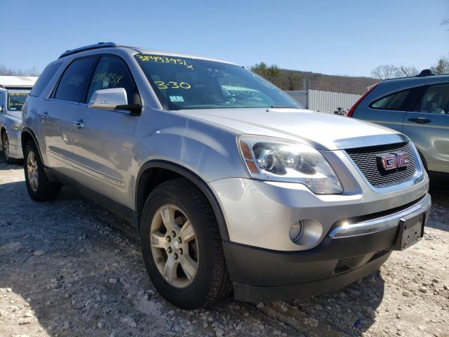 Salvage cars for sale from Copart West Warren, MA: 2008 GMC Acadia SLT