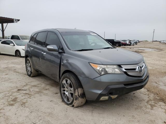 Salvage cars for sale from Copart Temple, TX: 2008 Acura MDX Techno