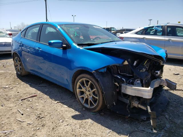 Salvage cars for sale from Copart Indianapolis, IN: 2015 Dodge Dart SXT