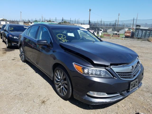 Acura salvage cars for sale: 2016 Acura RLX Tech