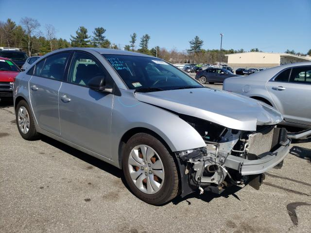 Salvage cars for sale from Copart Exeter, RI: 2015 Chevrolet Cruze LS