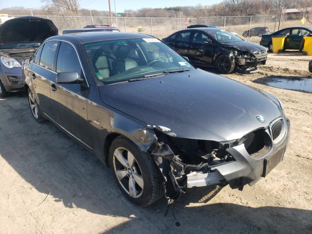 Salvage cars for sale from Copart Madison, WI: 2008 BMW 528 XI