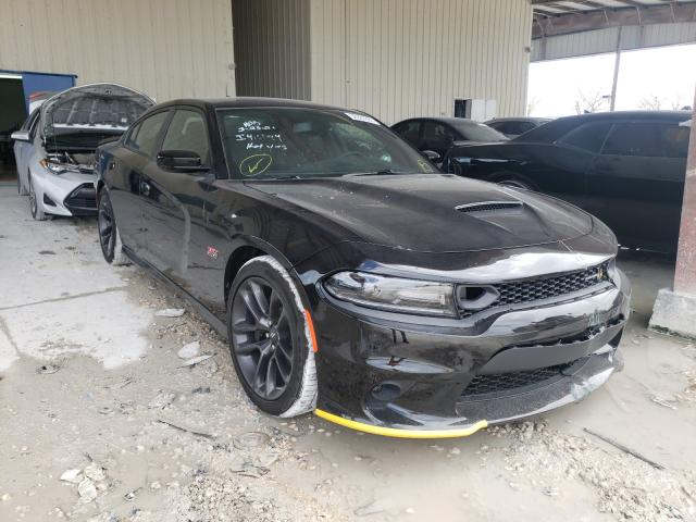 Salvage cars for sale from Copart Homestead, FL: 2021 Dodge Charger SC