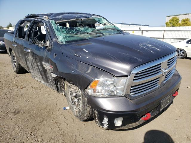 Salvage cars for sale from Copart Bakersfield, CA: 2017 Dodge RAM 1500 SLT