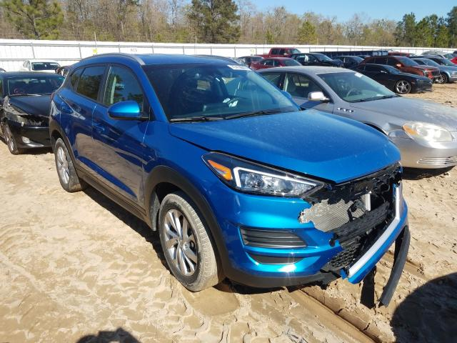 Salvage cars for sale from Copart Gaston, SC: 2019 Hyundai Tucson Limited