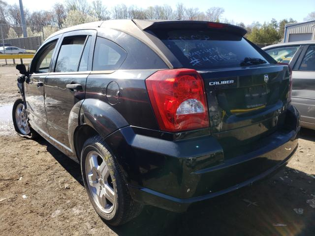 2008 DODGE CALIBER SX - Right Front View